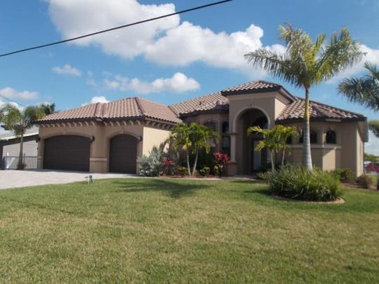 This home at 4429 Orchid Blvd., Cape Coral, recently
