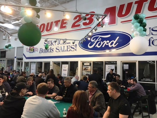 The 9th Annual Push to Walk Casino Night at Route 23 Auto Mall in Butler on March 10, 2018.