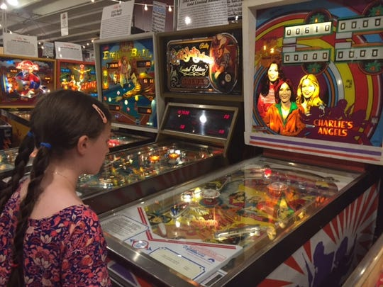 """Charlie's Angels"" is one of many TV shows honored with a pinball machine."