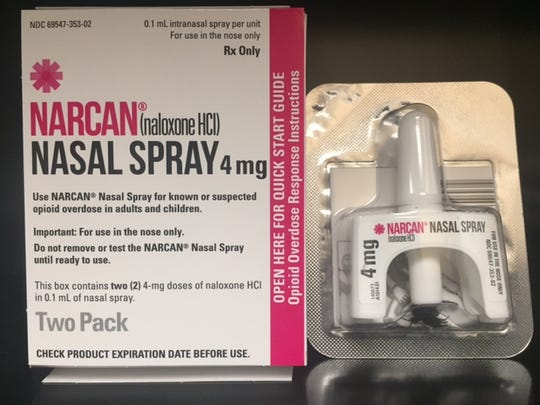 Narcan used by Metro Nashville Police to reverse opioid