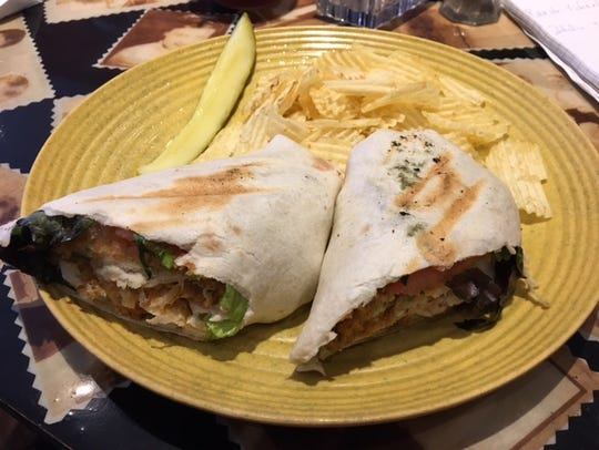 The lime whitefish wrap is an example of the delicate