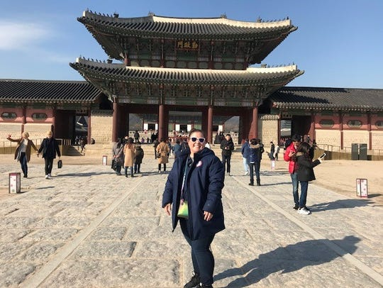 Dr. Stephanie Aldret of Lafayette was part of the medical team to help process Team USA athletes upon arrival to South Korea  for the Paralympic Games in March.