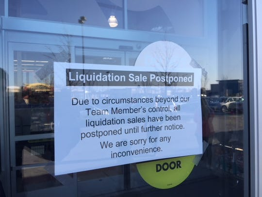 Toys R Us in Greenville cancelled its liquidation sale