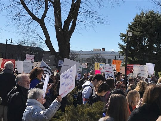 A March For Our Lives Rally was held in Somerville
