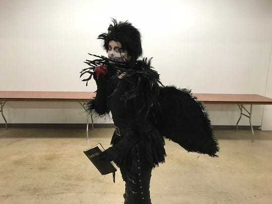 The South Carolina Comicon 2018 drew thousands of fans, many of whom dressed up as their favorite characters. Anastasia Ponomar came as Ryuk at the SC Comicon 2018.