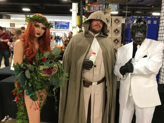 The South Carolina Comicon 2018 drew thousands of fans, many of whom dressed up as their favorite characters.