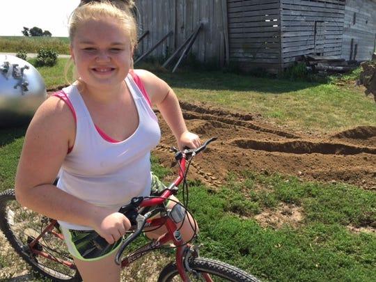 Megan Klindt, 16, died in a school bus fire Dec. 12,