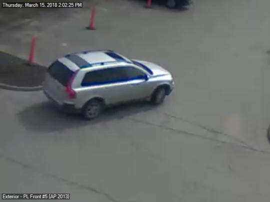 West Des Moines police said this vehicle was involved in a forgery case.