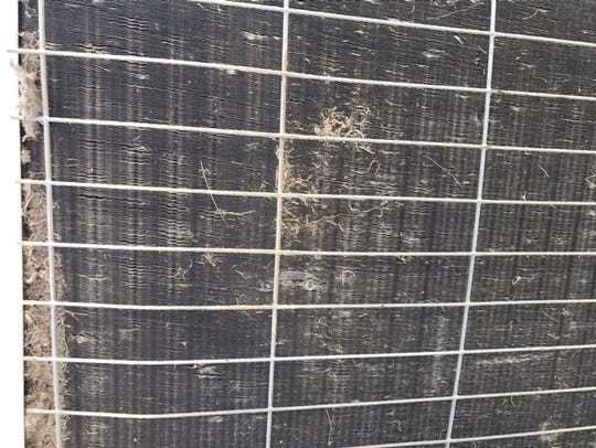 Cleaning dirty coils is an important part of air conditioner