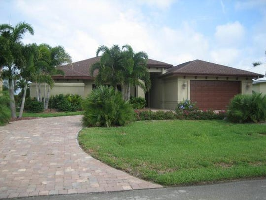 This home at 5717 SW 9th Court, Cape Coral, recently