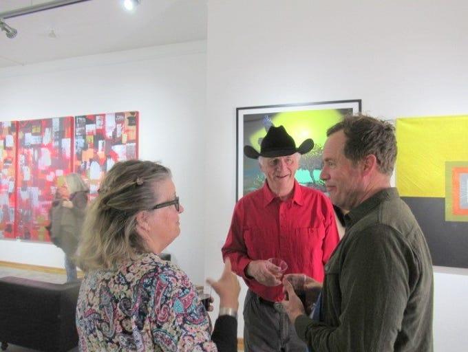Carrizozo artist Joan Malkerson and husband Warren