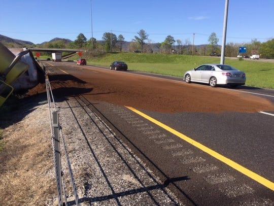 I-75 is facing lane closures following a hazmat spill