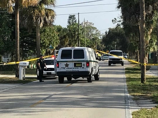 A second Lee County Sheriff's Office crime scene technician van arrives at a section of Matheson Avenue in Bonita Springs on Sunday morning where a homicide occurred late Saturday night. No details were available.