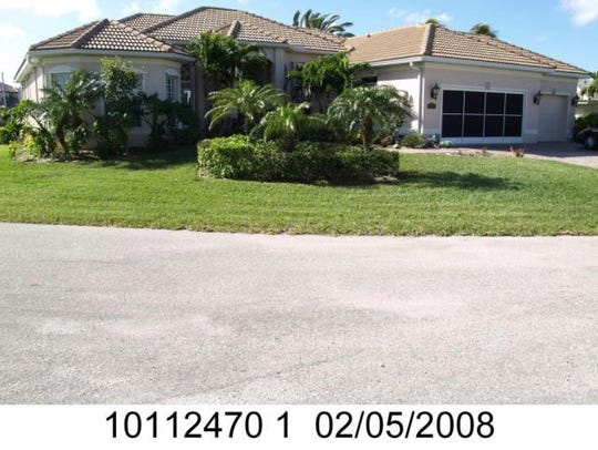 This home at 116 SW 53rd Terrace, Cape Coral, recently