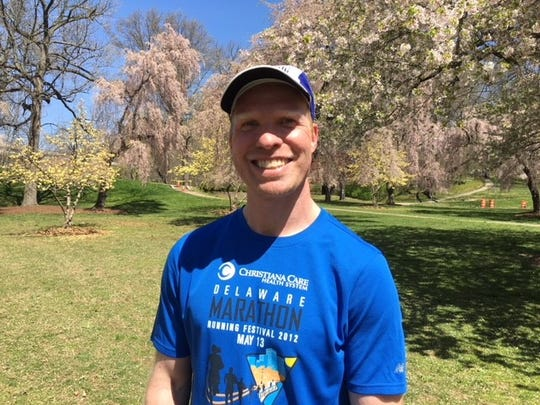 Christopher James has run in every Delaware Marathon Running Festival and is entered in Sunday's 15th annual event.