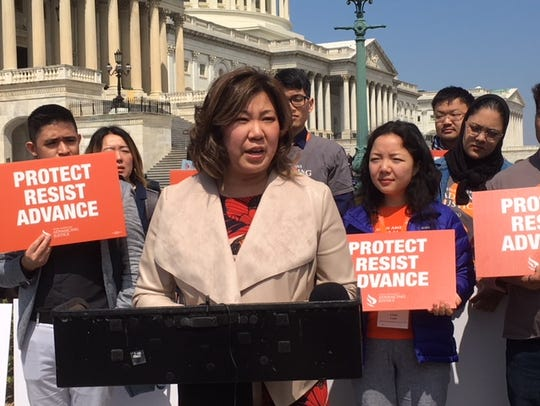 Rep. Grace Meng, D-N.Y., who serves on the Appropriations subcommittee on Commerce, Justice, Science, and Related Agencies, urged lawmakers earlier this month to support legislation that would eliminate a question about citizenship on the 2020 Census.