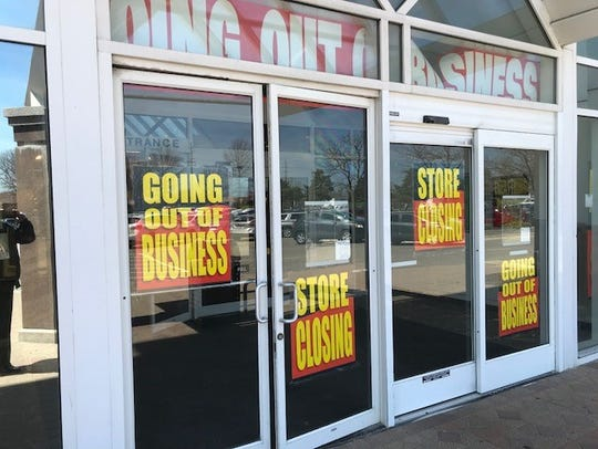 The signs at the Carson's entrance sum it up: Store