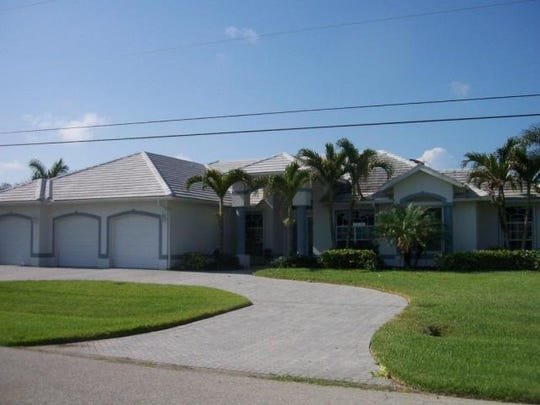 This home at 720 SW 56th St., Cape Coral, recently sold for $1 million.