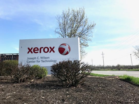 Xerox Corp.'s Webster campus.