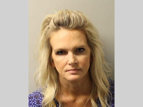 Denise Williams' mug shot.