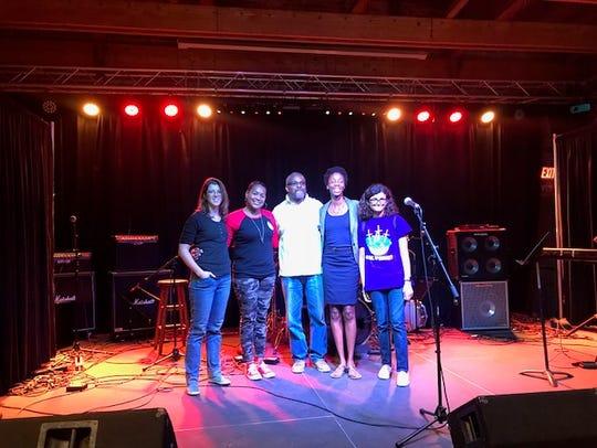 Storytellers:L-R: CD Davidson-Hiers, Cecka Rose Green,