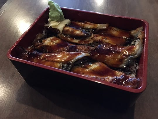 Una Don – which is barbecued eel served on a bed of