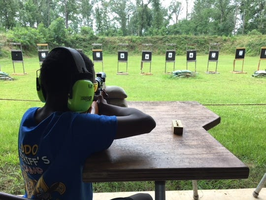Caddo Sheriff's Firearms Safety Camp
