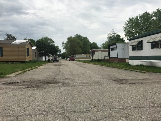 DeWitt Township officials say three dozen units in Kristana Mobile Home Park in the southern end of the township need to be removed or repaired.