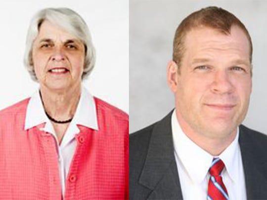 Linda Haney and Glenn Jacobs