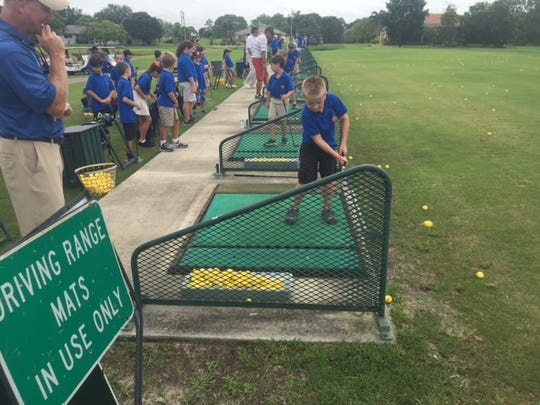The Cape Coral Junior Golf Association summer program that continues every Monday at 7:30 a.m. through July 9.