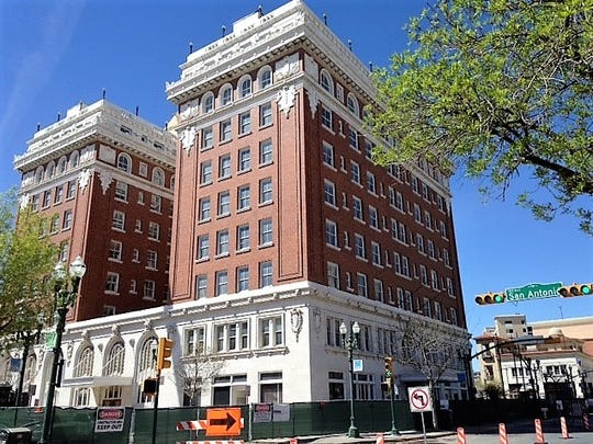 The Hotel Paso Del Norte, now undergoing a $70 million