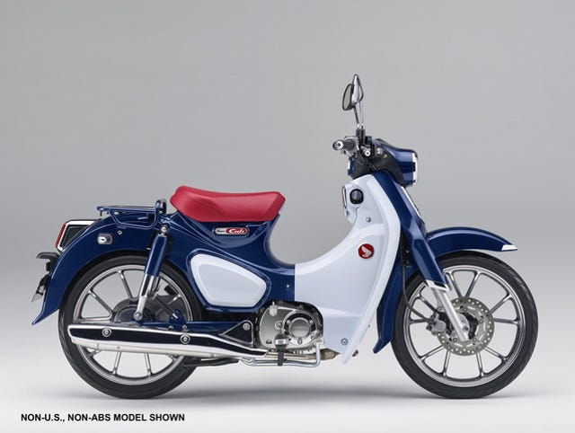Honda Super Cub The Most Ridden Motorcycles To Come Back US