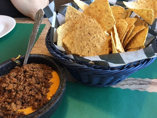 Jim's Dip is a zesty appetizer at the Pizza Parlor.