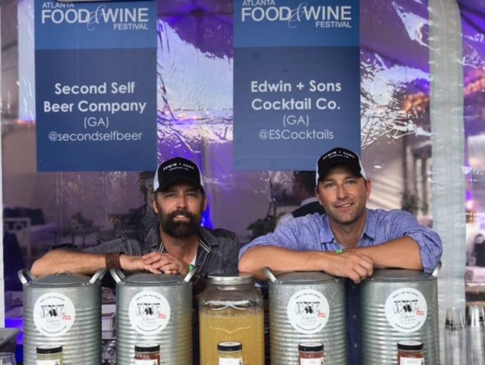 Russell Schaumburg, left, and Zach Schaumburg, right,