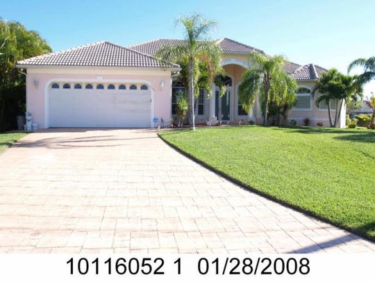 This home at 5203 SW 23rd Ave., Cape Coral, recently