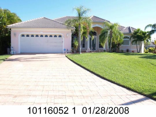This home at 5203 SW 23rd Ave., Cape Coral, recently sold for $800,000.