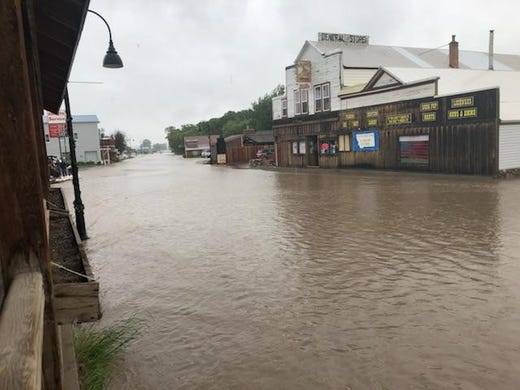 Montana Flooding Augusta Open For Business Even Without
