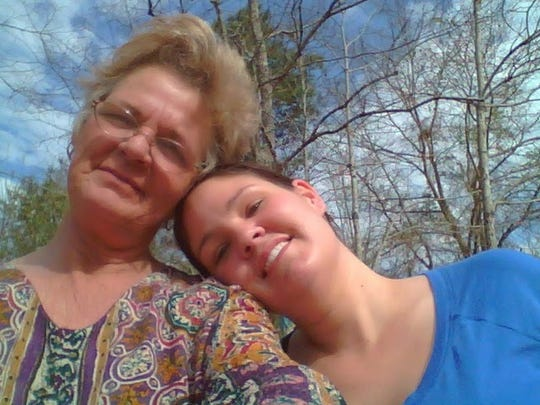 Gina Cobert and her daughter Autumn Steele. Steele died in 2015 after she was accidentally shot by a Burlington Police officer.