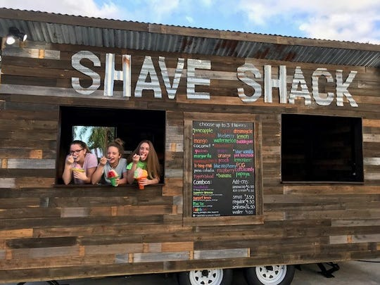 The Shave Shack is operated by three sisters: Jennifer,