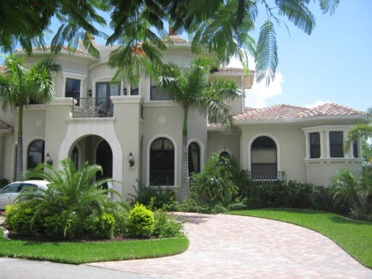 This home at 107 SW 56th Terrace, Cape Coral, recently sold for $2.2 million.