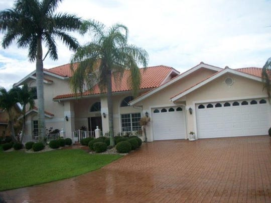 This home at 1506 SW 56th Terrace, Cape Coral, recently
