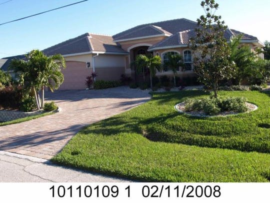 This home at 4937 Seville Court, Cape Coral, recently