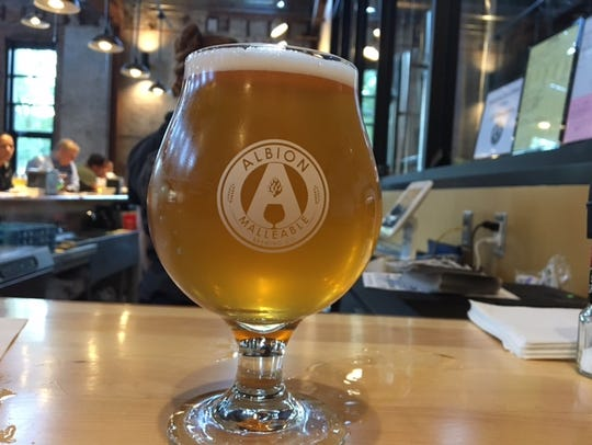 A new  microbrewery, Albion Malleable Brewing Company