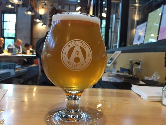 A new  microbrewery, Albion Malleable Brewing Company features a wide variety of saisons, ambers, IPAs and stouts.