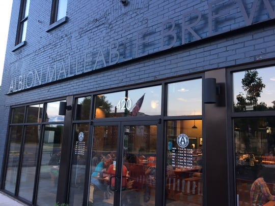 One of the newest restaurants in Albion is the Albion