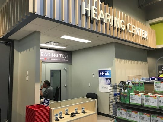 Hy-Vee Inc.'s new HealthMarket features a hearing aid center.