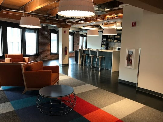 At Amazon's offices in Boston, employees have access
