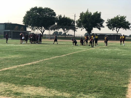 The Orosi High football team is coming off a 8-4 record