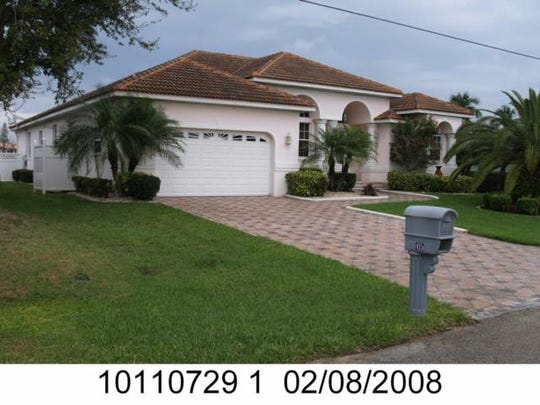 This home at 415 Avalon Drive, Cape Coral, recently