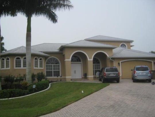 This home at 2132 SE 20th Place, Cape Coral, recently